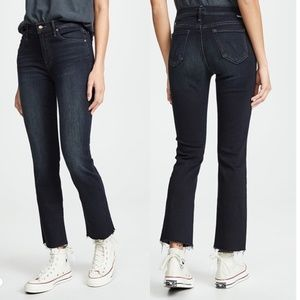 Mother Denim the rascal cropped jean size 28